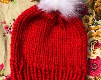 Holiday Honey Slouchy Knit Beanie
