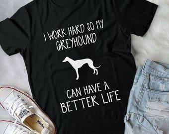 Greyhound Art, Greyhound Dog, Greyhound Gift, Dog Lover Gift, Greyhound Gifts, Dog Lover, Greyhound Shirt, Dog Shirt