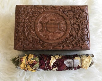 Triple Goddess Magical box (set of 3)