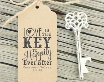 Skeleton key print | Etsy