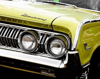 1964 Mercury Montclair Marauder Car Photography, Automotive, Auto Dealer, Muscle, Sports Car, Mechanic, Boys Room, Garage, Dealership Art