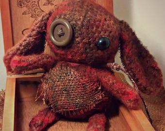 Creepy Macabre Crochet Bunny