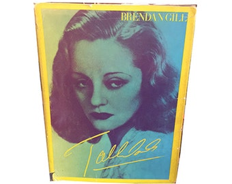 Tallulah Bankhead Biography by Brenden Gill, Classic Hollywood, Broadway
