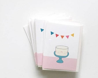 Birthday girl card - Spring Cleaning Sale