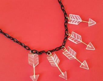 Bonnie arrow necklace