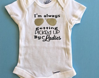 I'm always being picked up by Ladies Onesies® brand by Gerber®