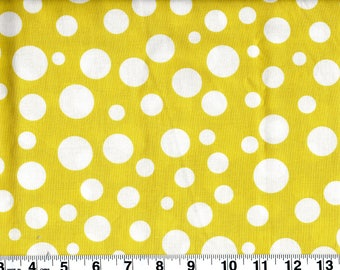 Michael Miller Lolli Dot Leaf Green Cotton Fabric BTY #471