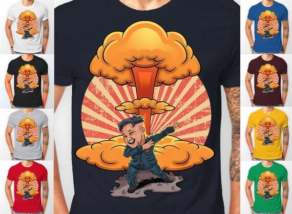 Kim Jong Un Dab On 'Em Dabbing Political Tee shirt T-Shirt