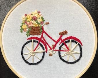 bike embrodiery