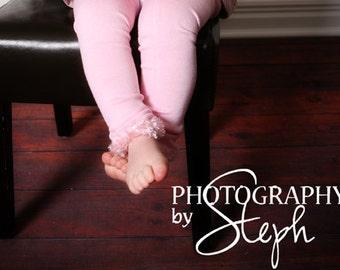 Pink Baby Leg Warmers