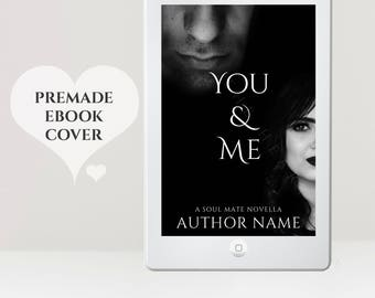 Couple eBook Cover - Romance eBook Cover - Crime eBook Cover - eBook Design - Black eBook Cover - Premade eBook Cover - Kindle Cover