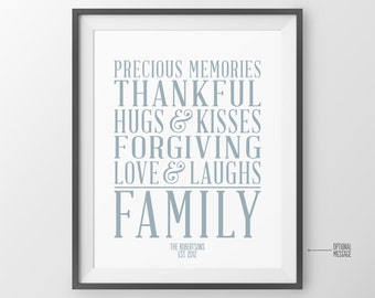 Our family rules poster family values anniversary gift for family rules sign family quotes house rules subway art poster kitchen wall art family rules dining m4hsunfo