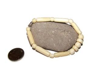 Vintage carved Bovine Bone bracelet, Bohemian, Boho, Carved bone jewelry, Tribal, Tribal jewelry, Bohemian jewelry, bone bracelet