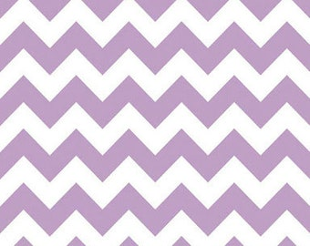 40% OFF SALE!  Chevron Medium Lavender - Riley Blake