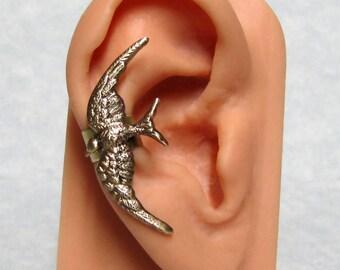 Sparrow Ear Cuff Steampunk