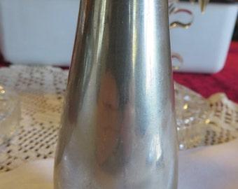 "Vase Pewter by Royal Selangor Pewter  //  Bud Vase  //  Vintage Pewter Vase 5"" Tall  //  Thick at 1/8"""