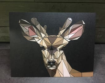Be a Deer Print