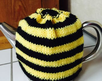 Tea cosy, tea cozy, knitted tea cosy,