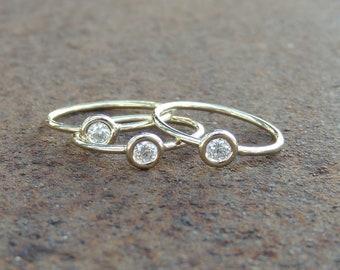 Adamas Diamond Stacking Ring