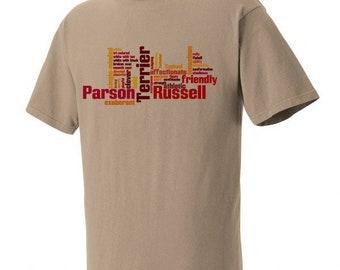 Parson Russell Terrier Garment Dyed Cotton T-shirt