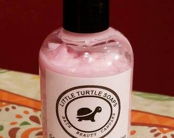 Sweet Pea Goats Milk & Honey Lotion, dry skin, non-greasy, pure silk, lotion, goats milk lotion, 4oz lotion, hand and body lotion,