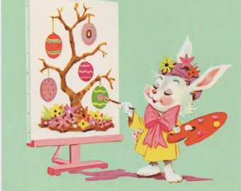 Easter Card, You Have a Great talent . . . for being nice!, Used c1980s Happy Easter, Norcross Informal Card, good shape