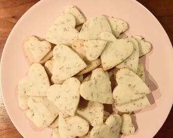 It's About Thyme! (Lemon and thyme shortbread cookies)