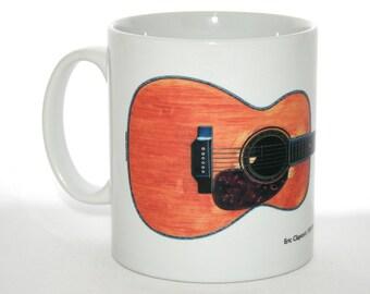 Guitar Mug. Eric Clapton's 1939 Martin 000-42