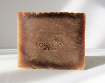 Natural Coconut Soap Bar, Cold Process Soap, Shea Butter Soap, Vegan Soap, Gift Idea