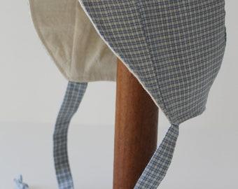 Willie Sunhat size 0-3 months sewn by Laura Ingalls Gunn