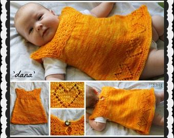 Dana Baby Dress or Tunic  PDF pattern