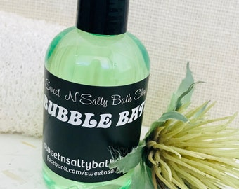 Spearmint Eucalyptus Bubble Bath/More Scents to Choose From!