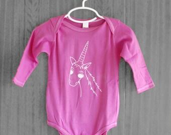Adorable Unicorn Bodysuit
