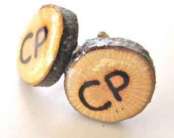 Custom Cufflinks, Wedding Cufflinks, Monogram Cufflinks, Personalized Cufflinks