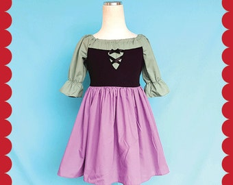 Sleeping Beauty dress, Briar Rose dress, Briar Rose costume, Aurora dress, Sleeping Beauty costume,  Princess dress, Aurora costume