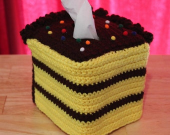 Cake Tissue Box Cozy