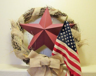 Showstopper Americana Wreath