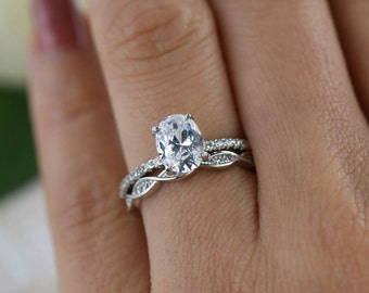 jewelry shop rings desert carat diamonds brilliant engagement solitaire or diamond in white ag simulant ring