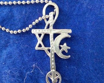 Interfaith Peace Pendant