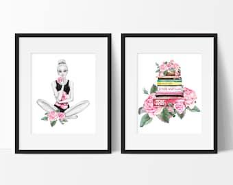 Dorm Room Decor, Fashion Wall Art, Teen Girl Room Decor