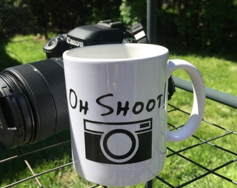 Oh Shoot! 12oz Ceramic Mug