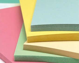 Recycled A4 Pastel Craft Card 180gsm Five Pastel Shades Card Stock Choose Quantity