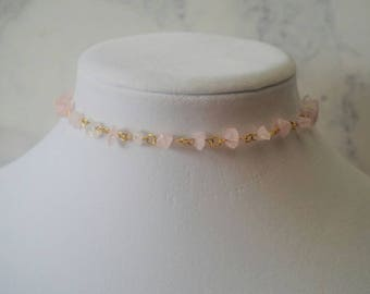 Rose Courts Choker Necklace