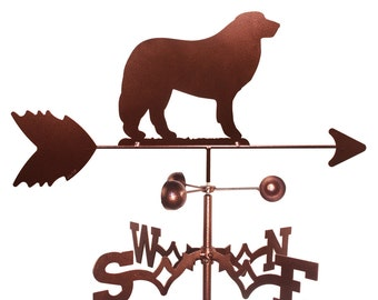 Hand Made Great Pyrenees Dog Weathervane NEW