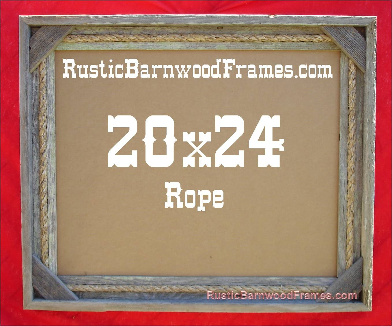 20x24 Rope rustic barn wood aged weathered reclaimed primitive photo ...