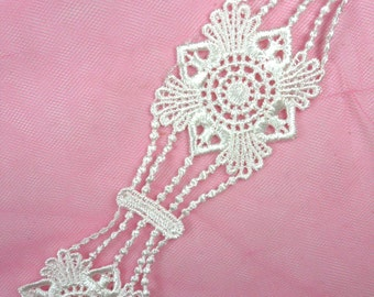 "GB25 Antique White Venice Lace Trim 2"" (GB25-awh)"