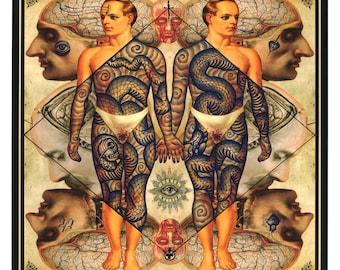 Ramon maiden original limited edition print