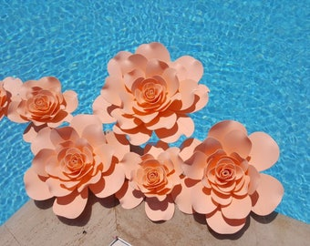 Floating Pool Wedding Flower Decoration Set of 5