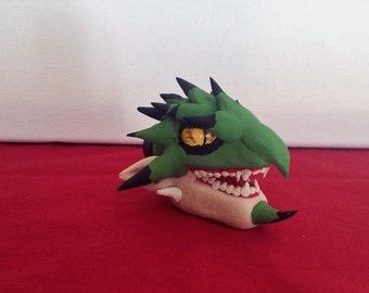 Monster Hunter Rathian Magnet, Original Handmade Polymer Clay