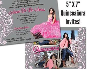Quinceanera Invite Sweet 15 Invitation Quinceanera Invitation Sweet 15 Invite